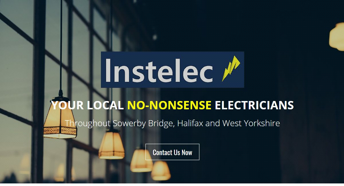 Instelec Electrician Website By Customology
