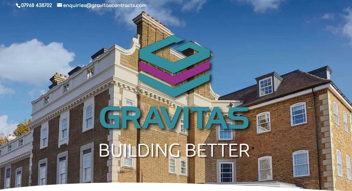 Gravitas Contracts Ltd Website By Customology