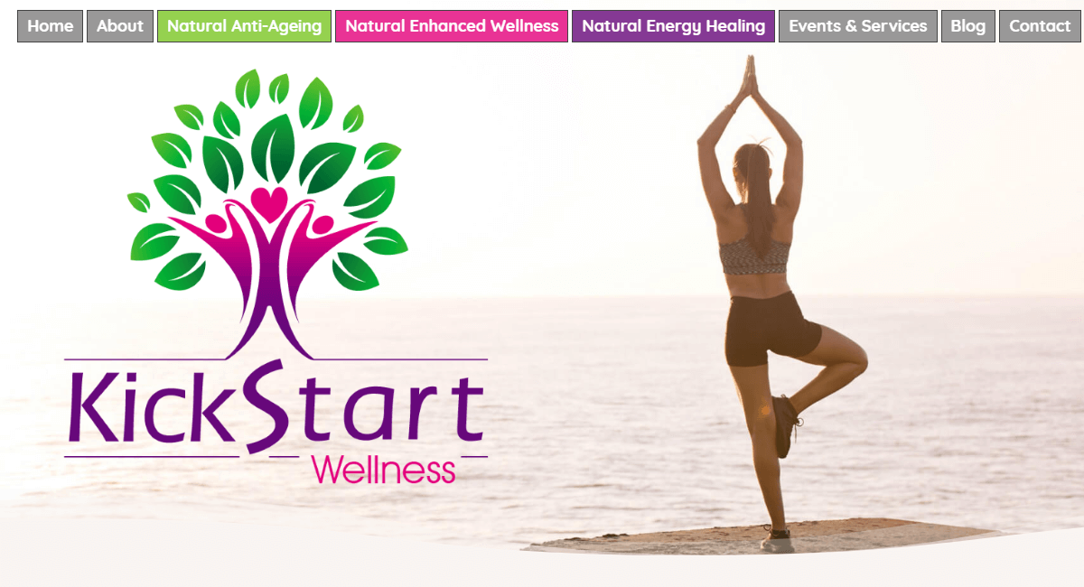KickStart Wellness Website By Customology