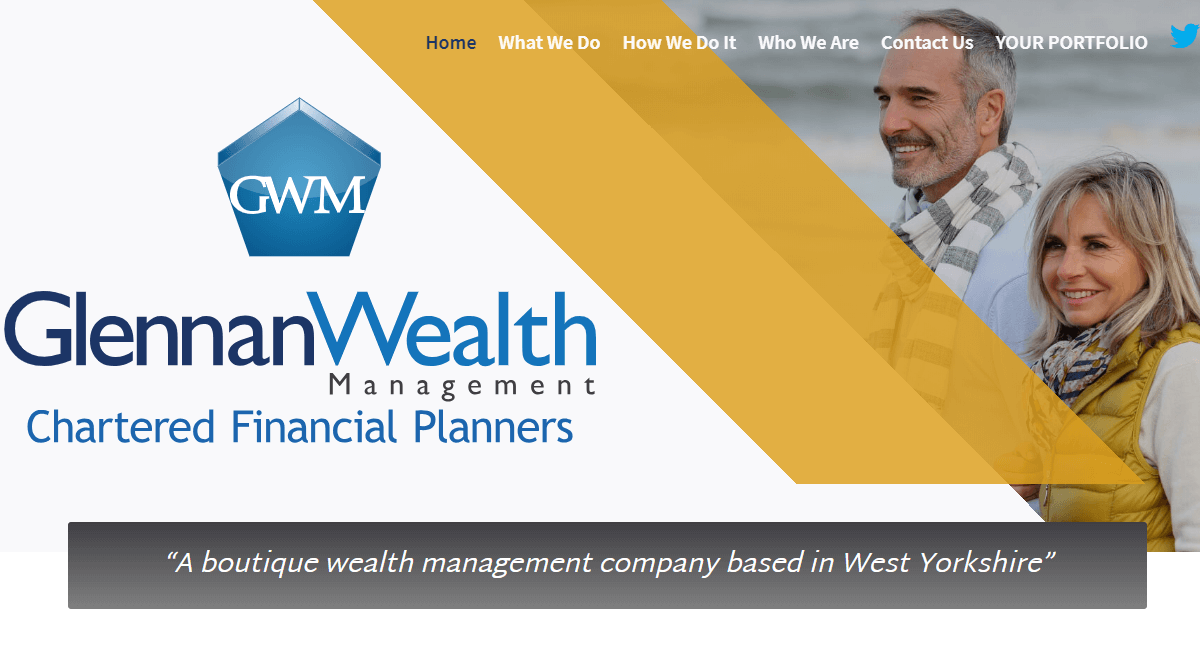 Glennan Wealth Management Website By Customology