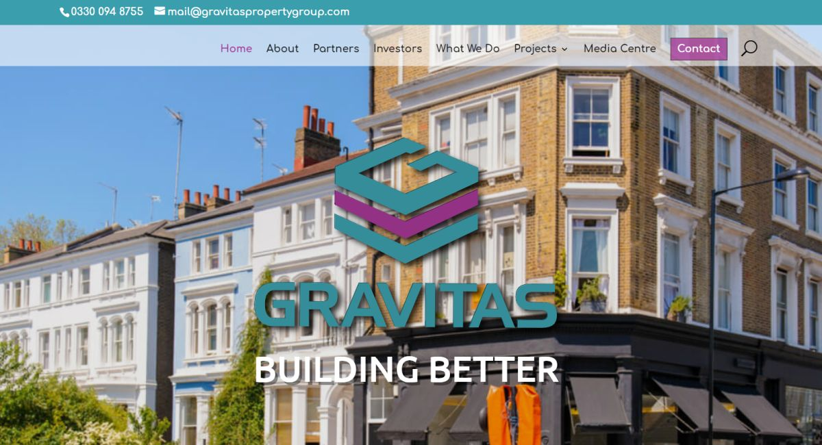 Gravitas Property Group Website By Customology